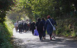 Pilgrims to St Nons Credit - Ruth Jones
